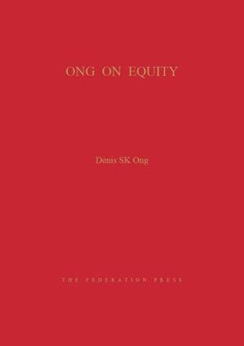 Ong on Equity (Hardcover): Denis SK Ong