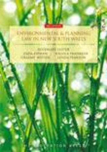 9781862878525: Environmental and Planning Law in New South Wales