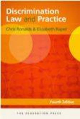 Discrimination Law and Practice (Paperback): Chris Ronalds