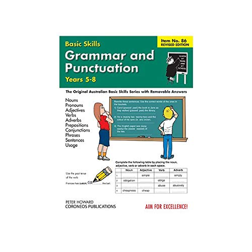 Basic Skills: Grammar & Punctuation Level 2 (Forest Green/Black/White): Howard, Peter...