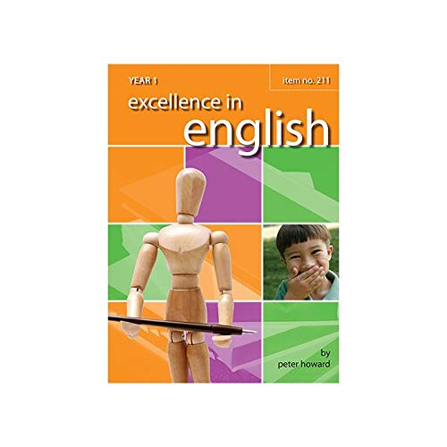 9781862942356: Excellence in English Year 1