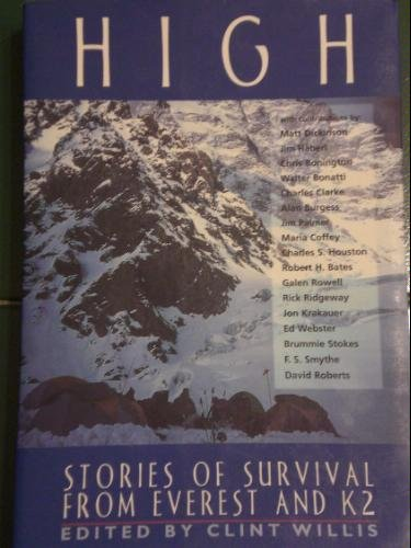 9781863026734: High:Stories Of Survival From Everest And K2 (An Adrenaline Book)