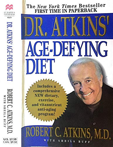 9781863252379: DR ATKIN'S AGE DEFYING DIET