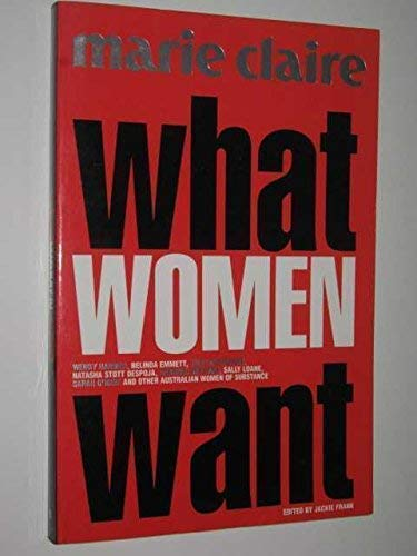 WHAT WOMEN WANT: Marie Claire