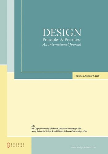 9781863356374: Design Principles and Practices: An International Journal: Volume 3, Number 4