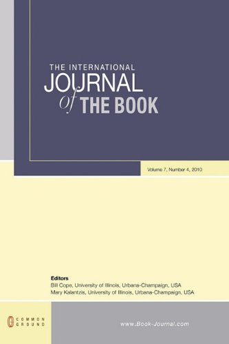 The International Journal of the Book: Volume 7, Number 4