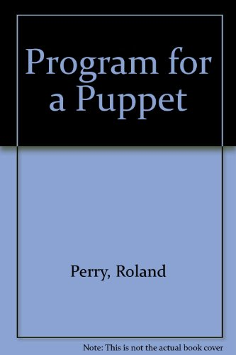 9781863400510: Program for a Puppet