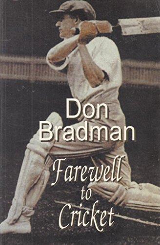 9781863406727: A Farewell to Cricket