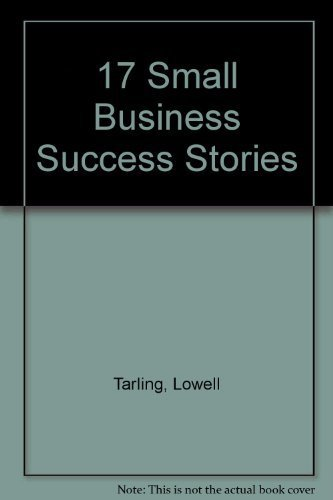 9781863500906: 17 Small Business Success Stories