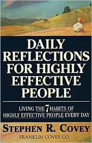 9781863501620: Daily reflections for highly effective people
