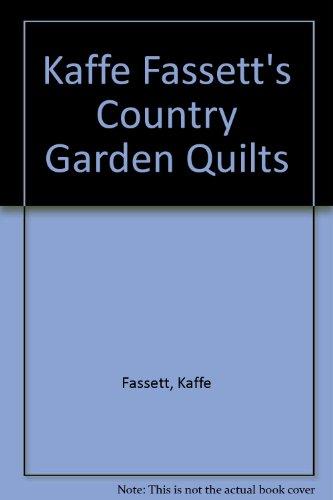 Kaffe Fassett's Country Garden Quilts (9781863513937) by [???]
