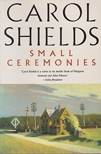 Small Ceremonies (1863734562) by Carol Shields