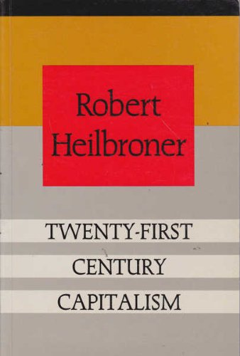 9781863735490: Twenty-First Century Capitalism