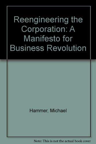 9781863737067: Reengineering the Corporation