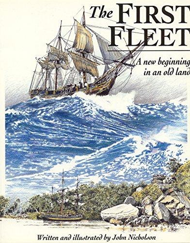 9781863739238: The First Fleet (A little ark book)
