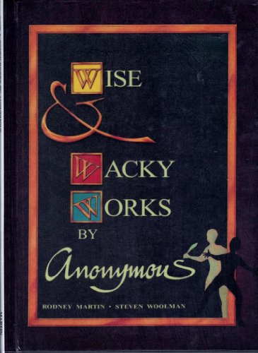 9781863740395: Wise and Wacky Works by Anonymous