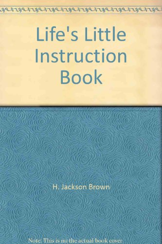 9781863810227: Life's Little Instruction Book