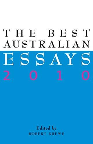9781863954945: The Best Australian Essays 2010