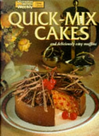 9781863960014: Quick-Mix Cakes and Deliciously Easy Muffins (Australian Women's Weekly Home Library)