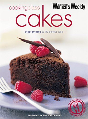9781863966344: Cooking Class Cakes (The Australian Women's Weekly Essentials)
