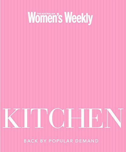 Kitchen Kitchen, Weekly Weekly Australian Women's, New, 9781863967099 This companion volume to COOK teaches you how to use your kitchen space and tools for maximum impact and cook fabulous food at the same time  - Pamela Clark, director of The Australian Women's Weekly Test Kitchen. Like COOK, it is packed with wonderful, achievable recipes, but the chapters in this book are arranged by cooking equipment, rather than method. Chapters include the frying pan, the saucepan, the casserole dish and the pudding basin. Every chapter contains a special feature on a cooking technique or implement. From different knives and their uses to ways to prepare seafood and how to use paper and foil. This handsome volume with ribbon-marker is the perfect gift for both first time and experienced home cooks.