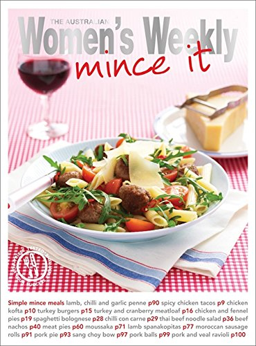 Mince It (The Australian Women's Weekly: New Essentials) (1863969365) by The Australian Women's Weekly