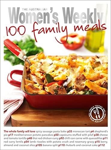 9781863969413: 100 Family Meals (The Australian Women's Weekly Standard)