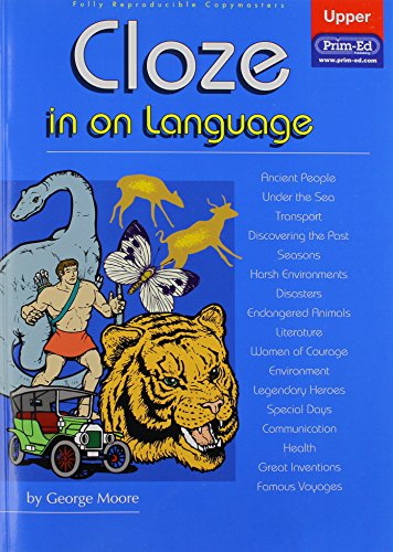 9781864002812: Cloze in on Language: Upper