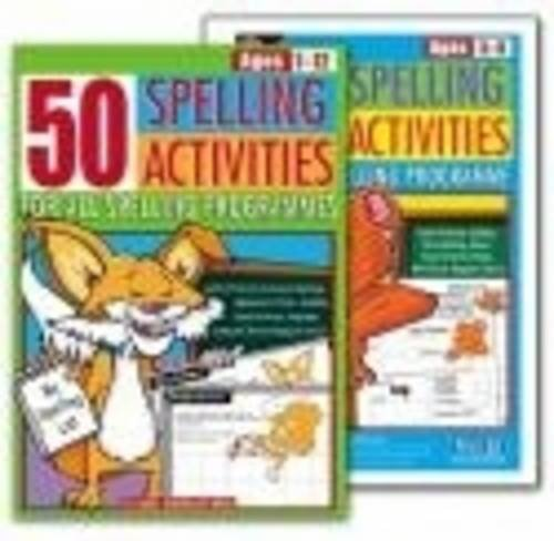 9781864003437: 50 Spelling Activities: For All Spelling Programmes