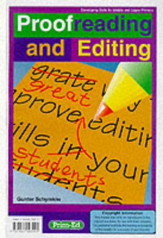 Proofreading and Editing (developing skills for middle: Schymkiw, Gunter