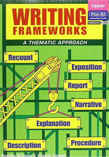 9781864006254: Writing Frameworks: Upper Level: A Thematic Approach
