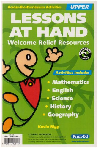 9781864006629: Lessons at Hand: Upper: Welcome Relief Resources