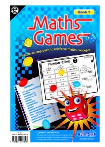 Maths Games Lower: A Hands-on Approach to Reinforce Maths Concepts: Gallacher, Christine; Grubb, ...