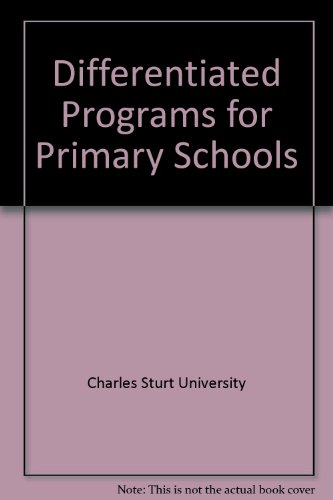 Differentiated Programs for Primary Schools: Charles Sturt University