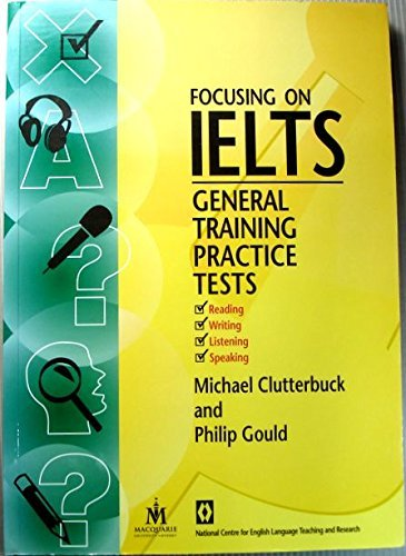 9781864088458: Focusing on IELTS: General Training Practice Tests