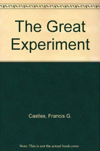 9781864480030: The Great Experiment: Labour Parties and Public Policy Transformation in Australia and New Zealand