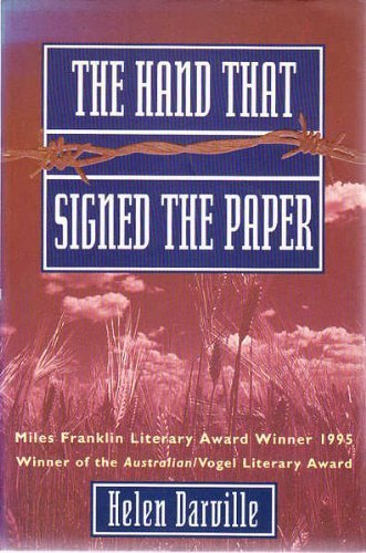 9781864480467: The Hand That Signed the Paper
