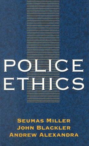 9781864483086: Police Ethics