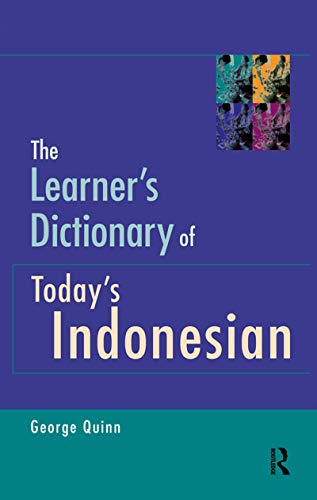 9781864485431: The Learner's Dictionary of Today's Indonesian