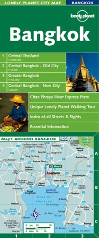 9781864500042: Lonely Planet Bangkok (Lonely Planet City Maps)