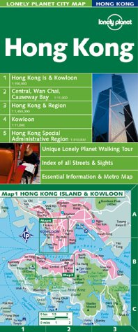 9781864500073: Lonely Planet Hong Kong (Lonely Planet City Maps)