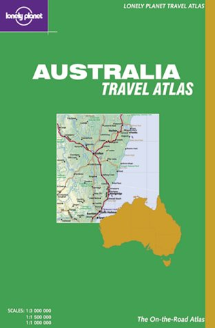 9781864500653: Lonely Planet Australia Road Atlas (Lonely Planet Road Atlases)