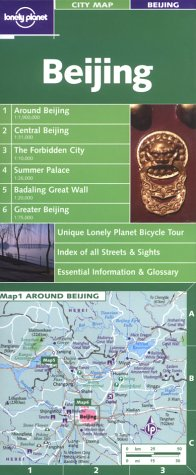 9781864502558: Lonely Planet Beijing City Map (Maps & Atlases)