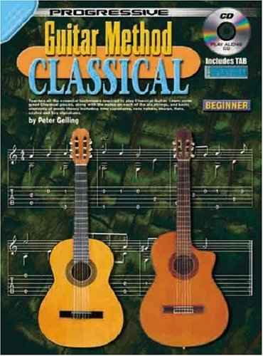 CP69000 - Progressive Guitar Method - Classical: Peter Gelling