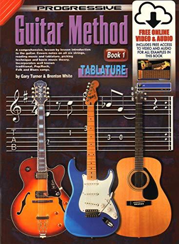 9781864690682: Progressive Guitar Method, Book 1: Tablature