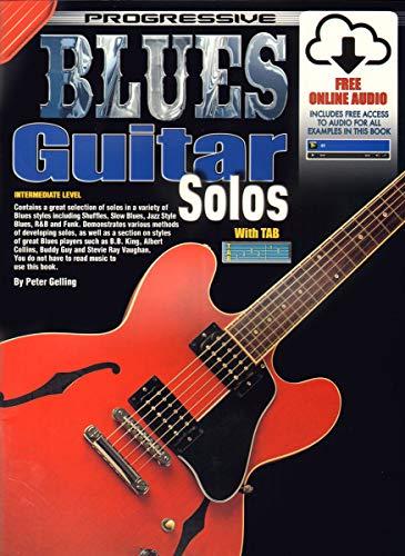 9781864690866: Progressive Blues Guitar Solos