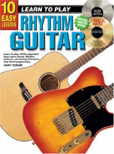 9781864691023: CP69102 - 10 Easy Lessons Learn to Play Rhythm Guitar BK/CD/DVD