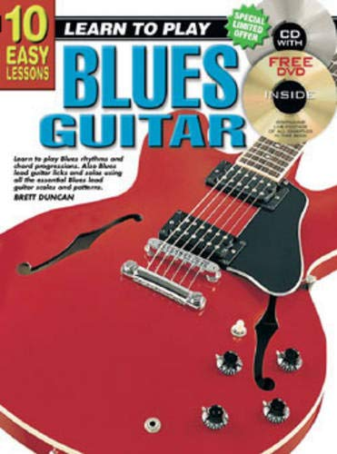 9781864691054: CP69105 - 10 Easy Lessons - Blues Guitar