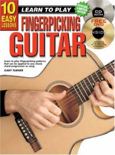 9781864691061: 10 Easy Lessons Fingerpicking Guitar