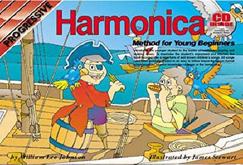 CP69140 - Progressive Harmonica Method for Young